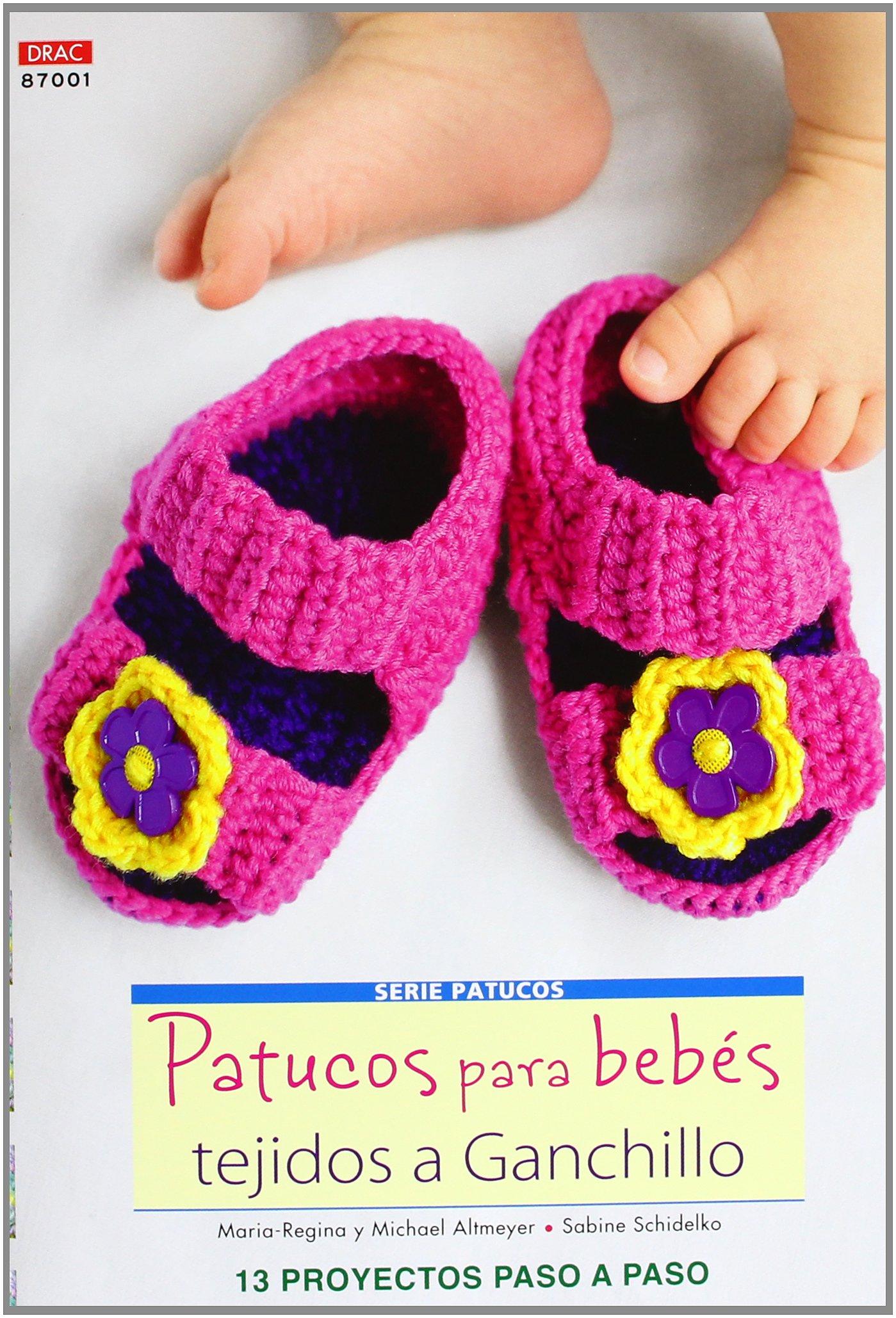 Crea Con Patrones Serie Patucos 1. Patucos Para Bebés Tejidos A ...