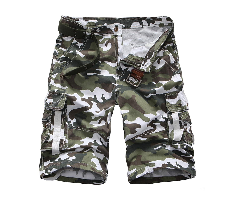 Elonglin Uomo Shorts Tinta Unita Pantaloncini