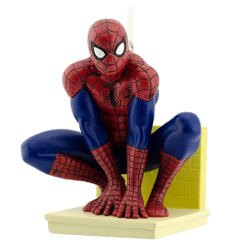 Amazon.com: Hallmark Marvel Ultimate Spider-Man Christmas Ornament ...