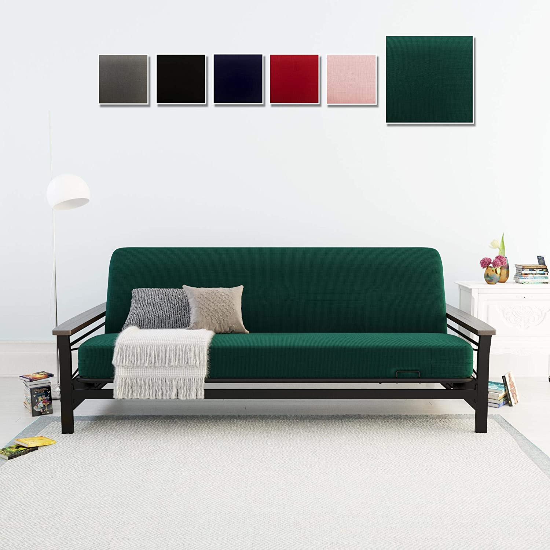 Dhp 4293929 Green Futon Mattress Slipcover Home Kitchen Amazon Com