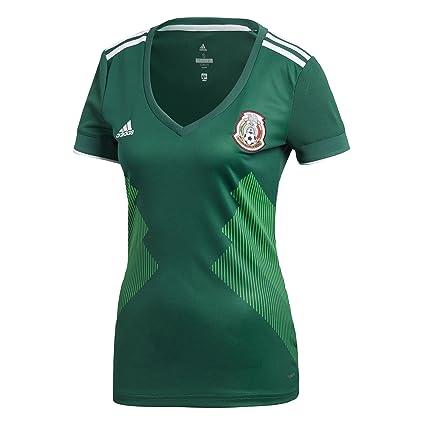Jersey Oficial Selección de México Local Mujer 2018  Amazon.com.mx ... de16a84654865