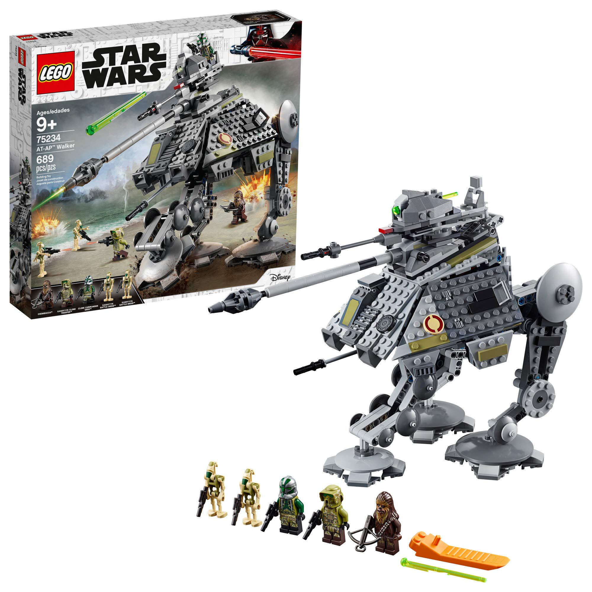 LEGO Star Wars: Revenge of the Sith AT-AP Walker 75234 Building Kit, 2019 (689 Pieces) by LEGO