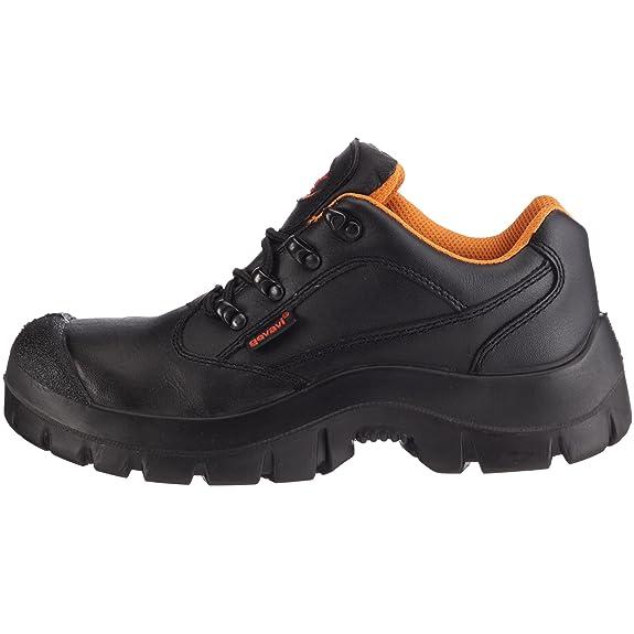 Gevavi Safety Gevavi Safety GS 41 GEVGS41 - Zapatos de cuero para hombre, color negro, talla 41