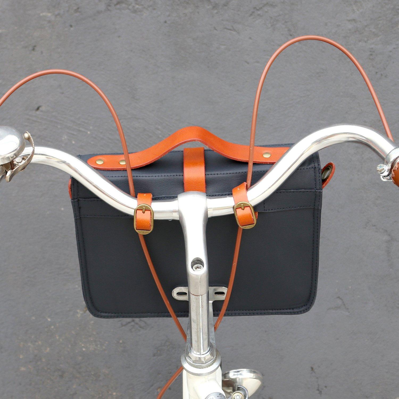 /Alforjas para bicicleta//trasera de bicicleta Ciclismo Manillar bolsa tourbon lienzo 10,5/Tablet de almacenamiento//bicicleta marco bolsa de moscas//rack/
