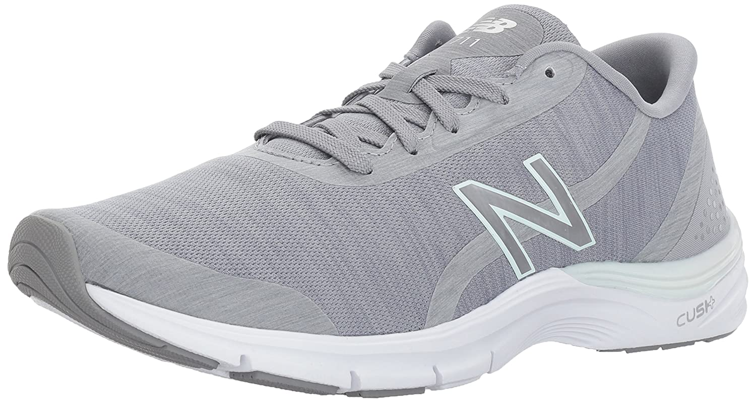 New Balance Women's 711v3 Cross Trainer B01NCA8HDU 5.5 D US|Grey/Water Vapor Heather