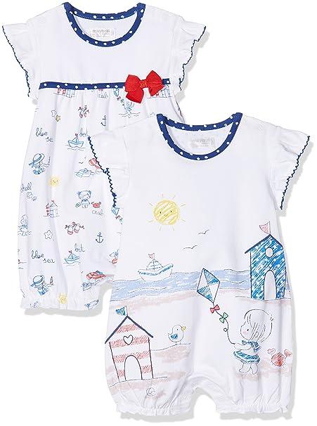 Mayoral 1760, Conjuntos de Pijama para Bebés, Multicolor (Royal 10), Recién