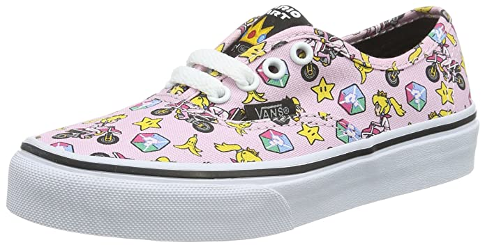 Vans Classic Slip Schuhe Unisex Jungen Mädchen Kinder Nintendo Mario Kart