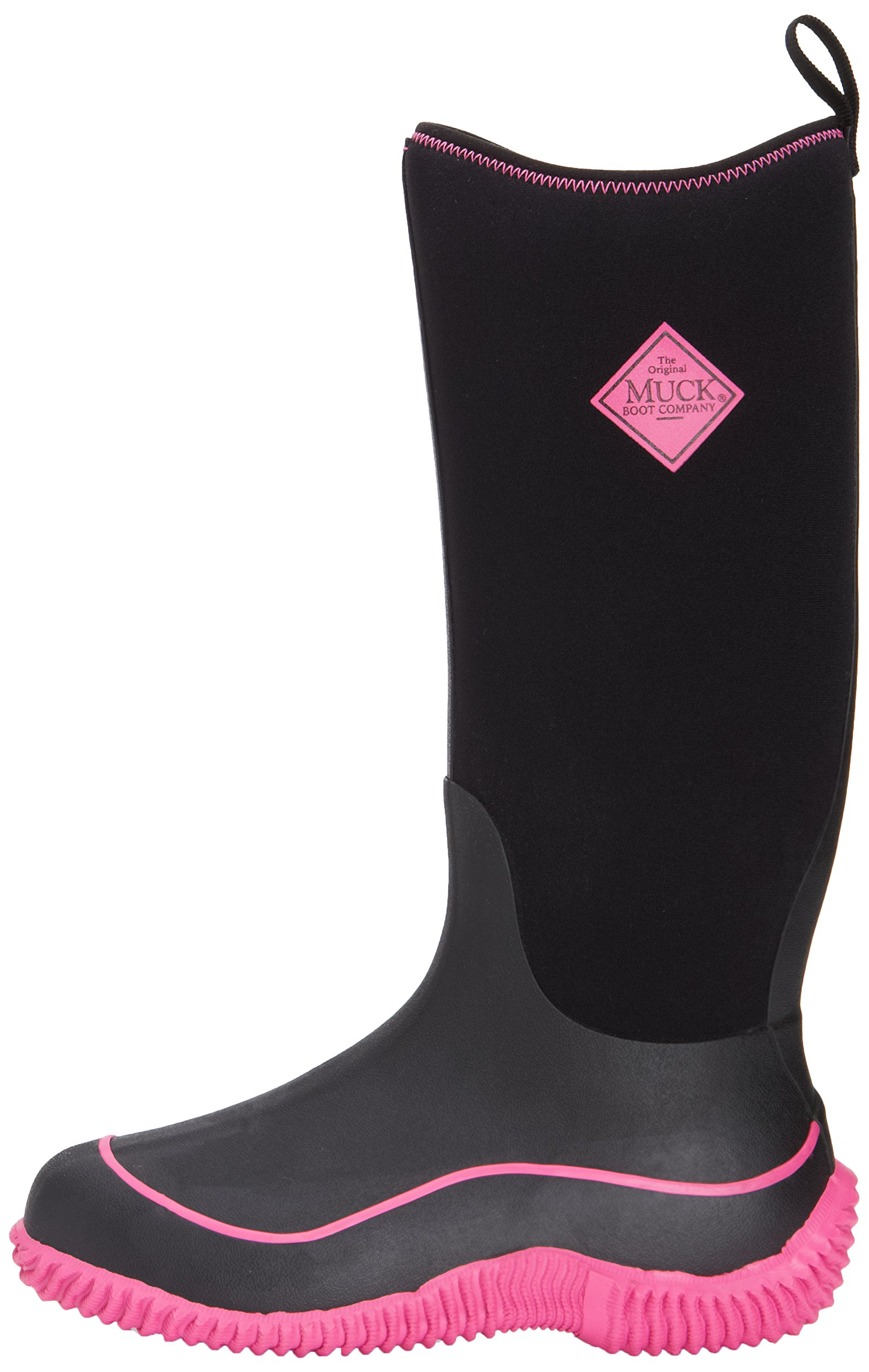 Muck Boot Women's Hale Snow Boot, Black/Hot Pink, 8 M US by Muck Boot (Image #6)