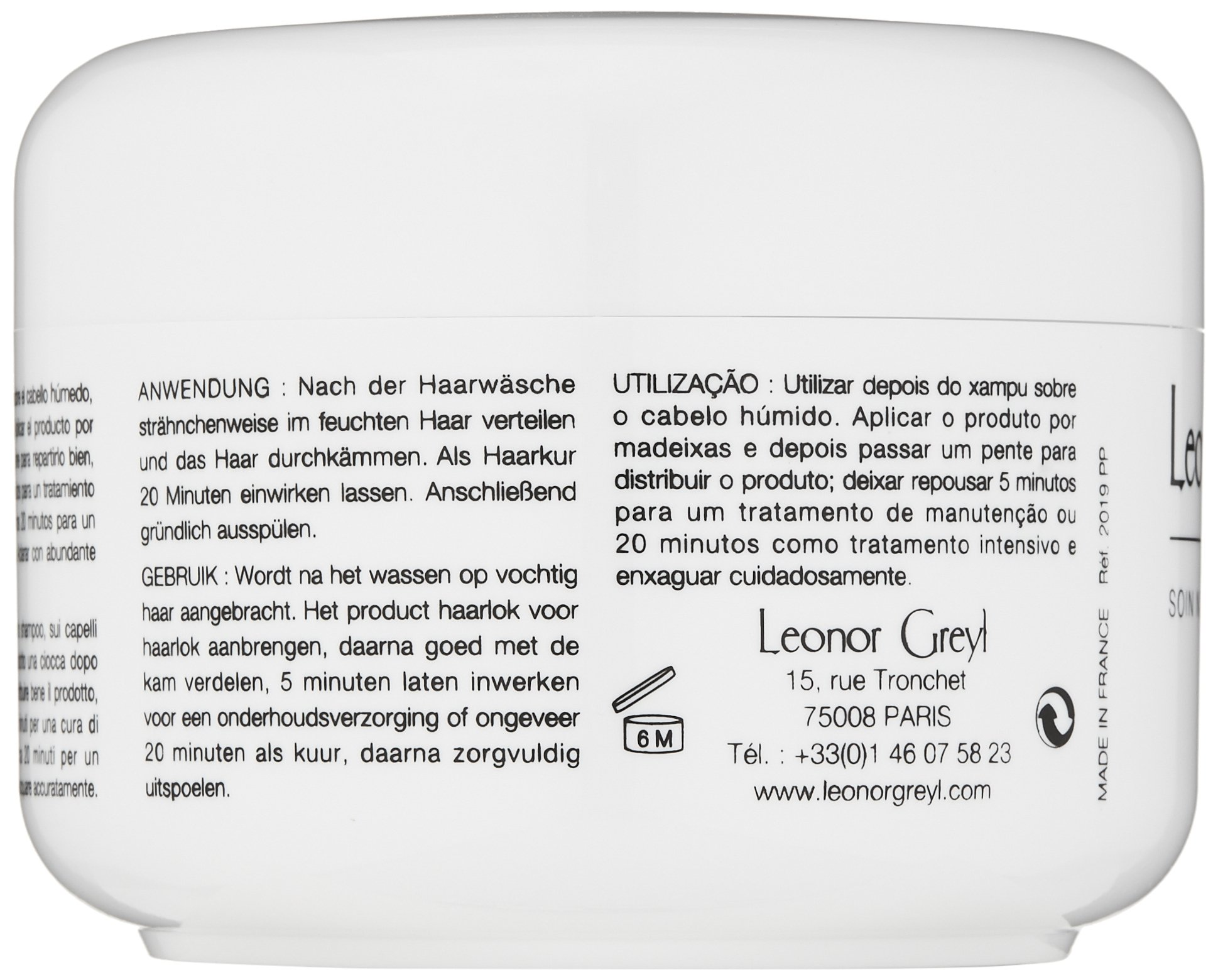 Leonor Greyl Paris Masque A L'Orchidee - Deep Conditioning Mask for Dry, Thick or Frizzy Hair, 7 oz. by Leonor Greyl Paris (Image #6)