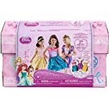 Disney Princess - 27 Piece Dress Up Trunk with Accessories - Ariel, Rapunzel, & Belle.