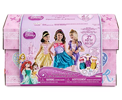 fc7d73a9665b Image Unavailable. Image not available for. Color: Disney Princess - 27 Piece  Dress Up Trunk ...