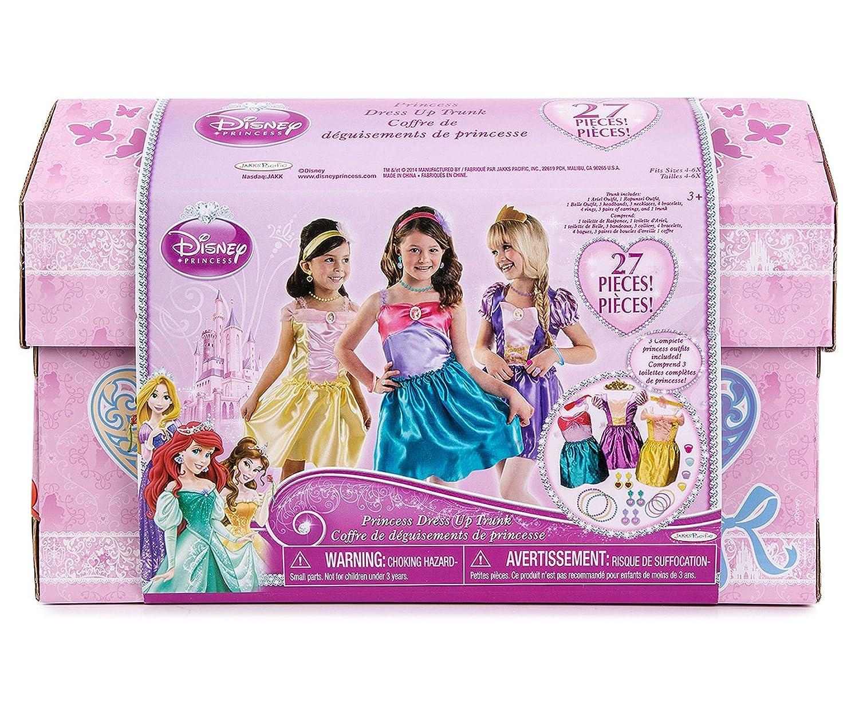 Amazon.com: Disney Princess - 27 Piece Dress Up Trunk with ...