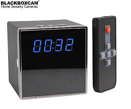 Reloj De Mesa Espionaje Oculta cámara HD Detección de Movimiento Digital Reloj Despertador Vigilancia con Memoria