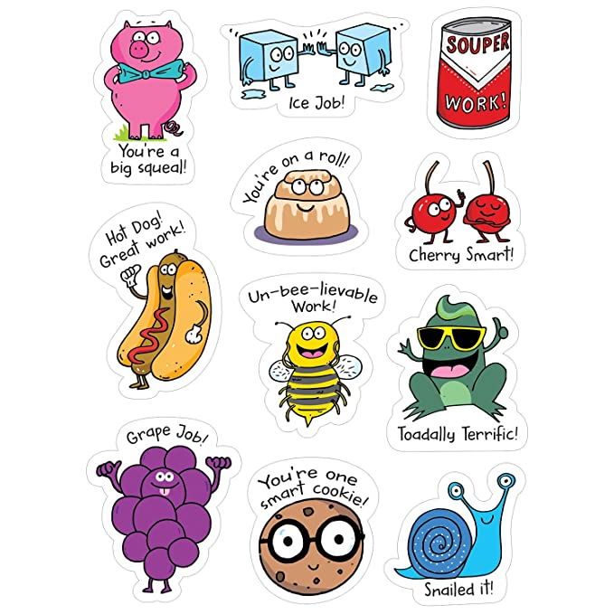 So Much Pun! Punny Rewards Stickers (8453)
