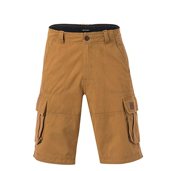 8691966dfa Animal Mens Agouras Cargo Shorts (30in) (Dijon Brown)