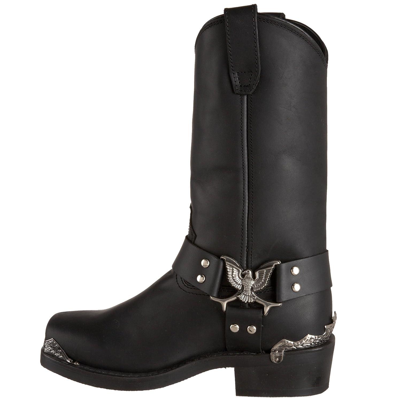 Dingo Mens Chopper Harness Boot,Black,11.5 M US