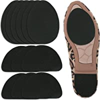6 Pairs Non-Skid Shoe Pads, UrChoice Non-Slip Shoe Stickers Self-Adhesive Shoe Grips Rubber Shoe Cushion Shoes Sole…
