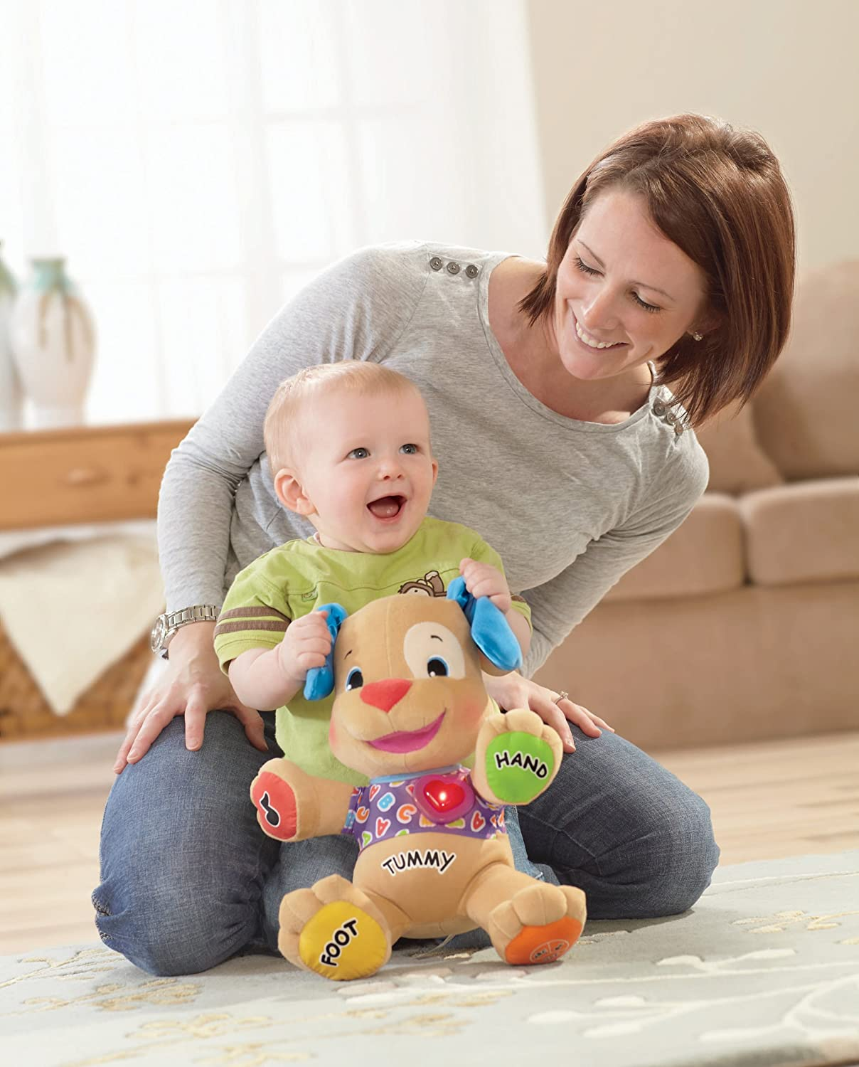 Fisher-Price Laugh /& Learn Learning Puppy