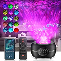 penobon Sterrenhemel projector Night Light Projector afstandsbediening / Bluetooth / meerkleurige projectie / 3…