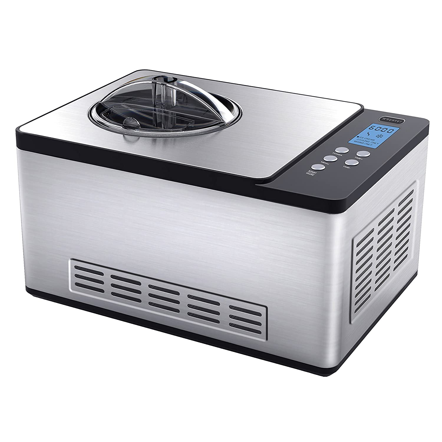 Whynter ICM-200LS Stainless Steel Ice Cream Maker, 2.1-Quart Review