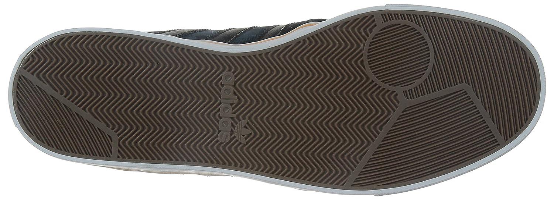 adidas Herren Seeley Sneaker, SchwarzBlauOrangeWeiß, 42 2