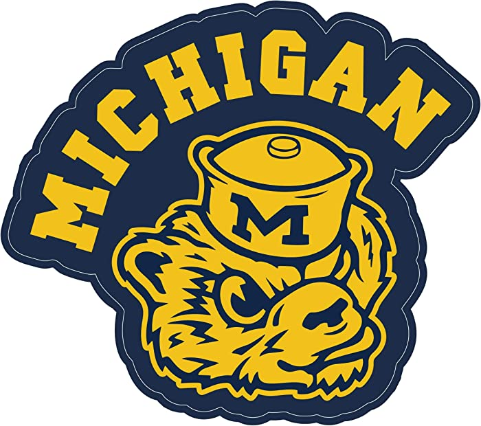 Top 10 Michigan Laptop Stickers