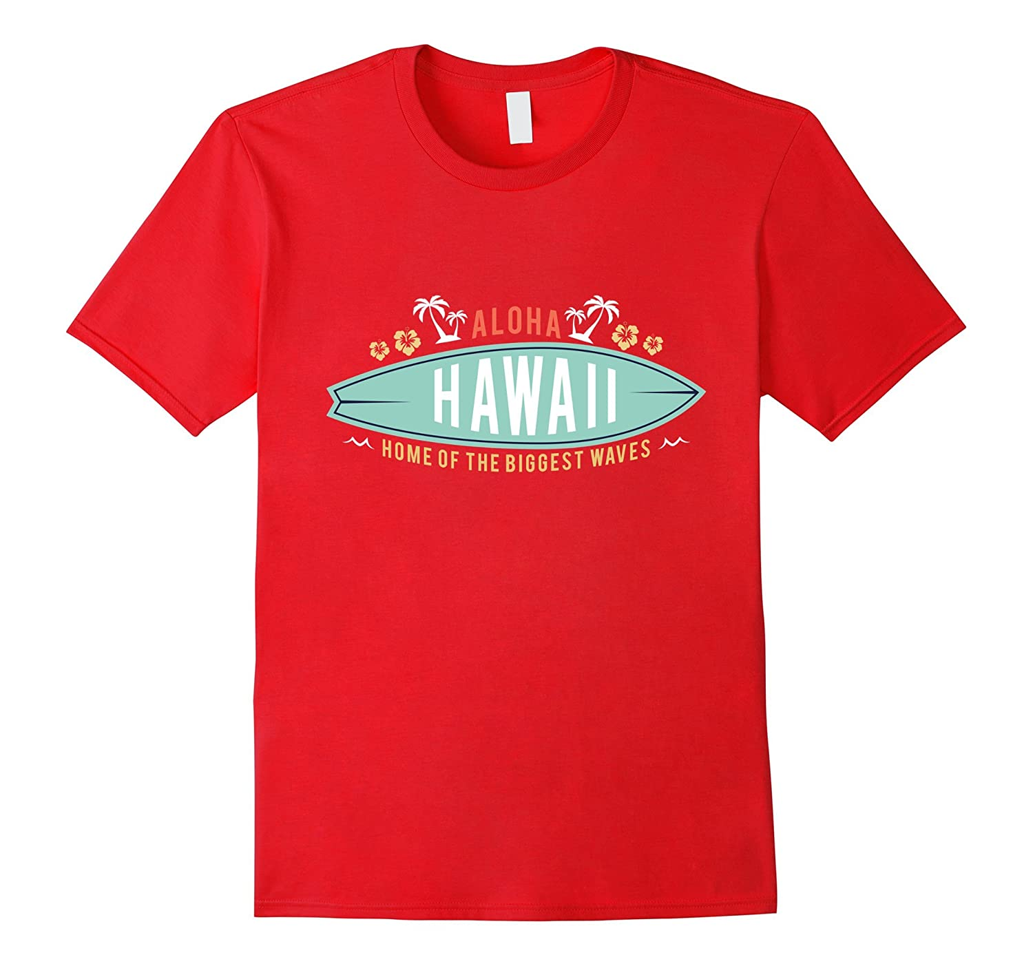 Aloha Surfing Surfboard Hawaiian T-Shirt men women kids tee-T-Shirt