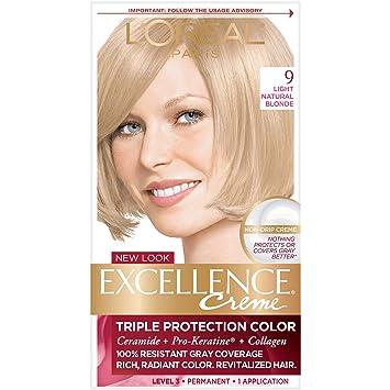 Amazon Loral Paris Excellence Crme Permanent Hair Color 9