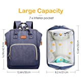 Diaper Bag Backpack, Waterproof Nappy Changing