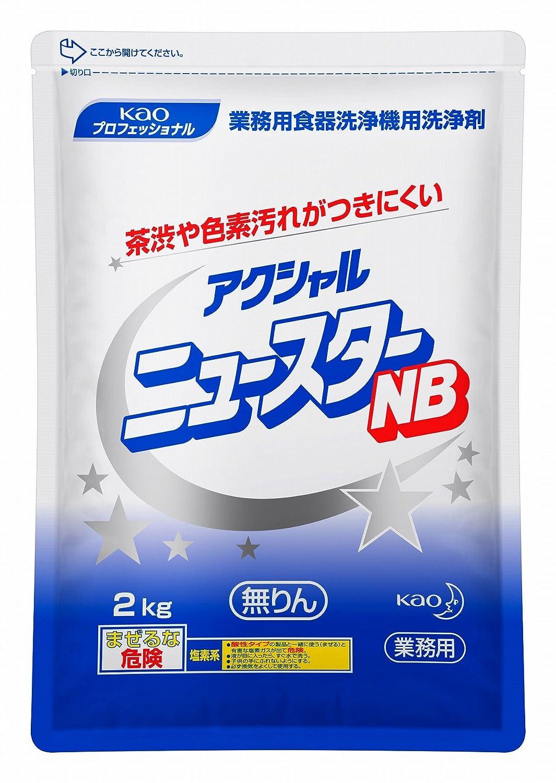 【業務用食器洗浄機用洗剤】花王 アクシャル ニュースターNB 2kg×8袋 B074YR2C9N