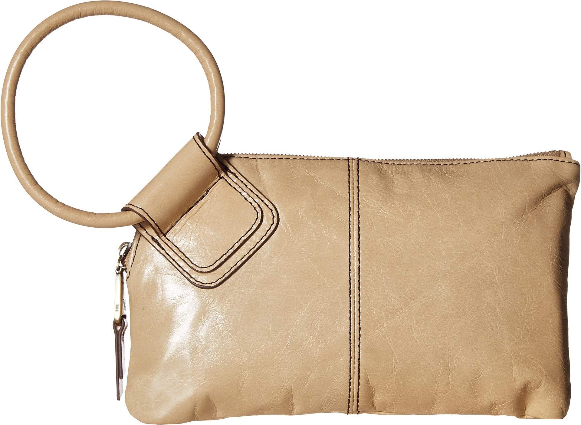 Hobo Women's Leather Sable Wristlet Clutch Wallet (Parchment)