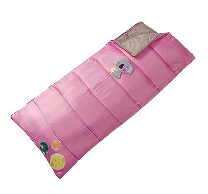 L.A. Trekking 82242 - Saco de dormir rectangular para niño con mochila (150 x 68