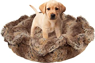 product image for Bessie and Barnie Ultra Plush Simba Deluxe Luxury Dog/Pet Lily Pod Bed Machine Washable