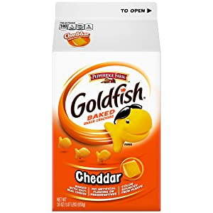Pepperidge Farm Goldfish Cheddar Crackers, 30 Ounce Carton