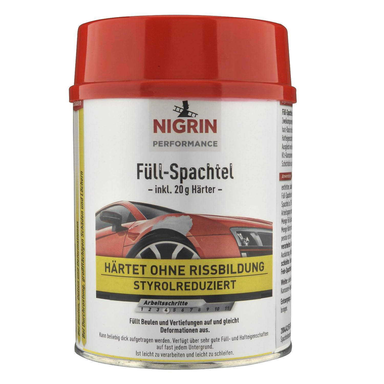 Nigrin 72111 Performance Fü ll-Spachtel 1 kg, 1000