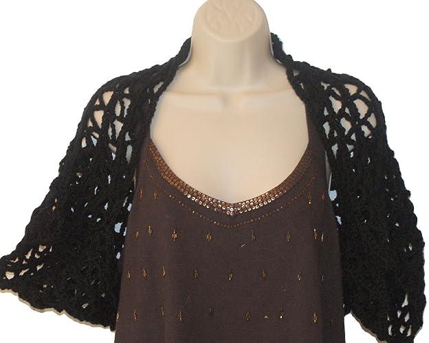 Amazoncom Womens Crochet Shrug Xl Bolero Bolero Plus Size Shrug