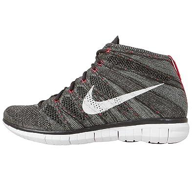 47d5f44c4451 ... Nike Free Flyknit Chukka 639700-003 Midnight Fog Mica  Green Crimson White ...
