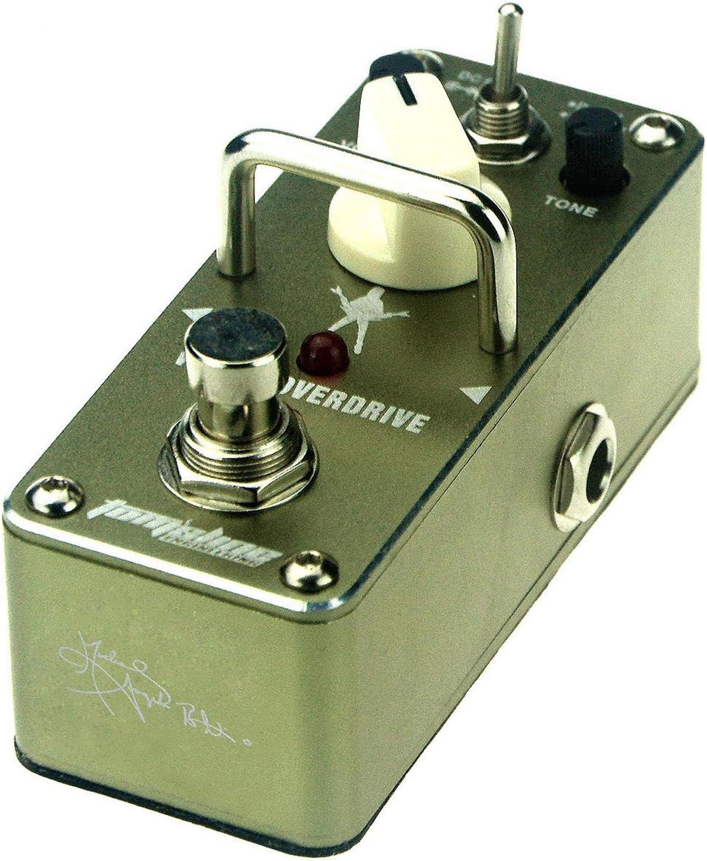Michael Angelo Batio Signature, pedal de efecto para guitarra, verde