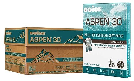 BOISE ASPEN 30% Recycled Multi-Use Copy Paper, 11