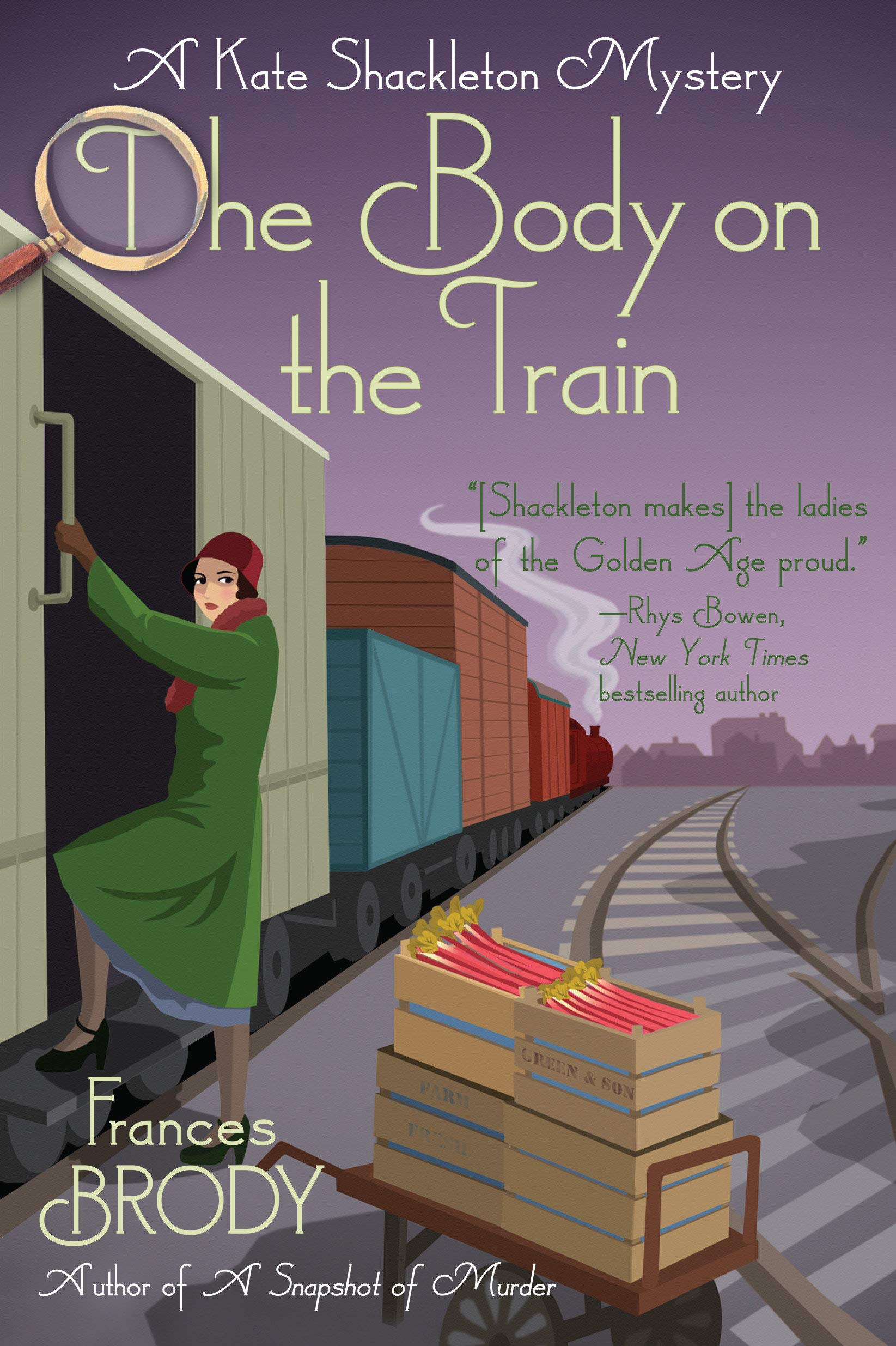 The Body on the Train: A Kate Shackleton Mystery: 11: Amazon.co.uk: Brody,  Frances: 9781643851600: Books