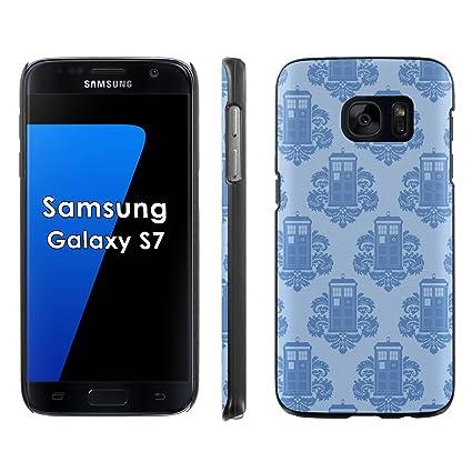 Amazon Com Samsung Galaxy S7 Phone Cover Tardis Wallpaper Black