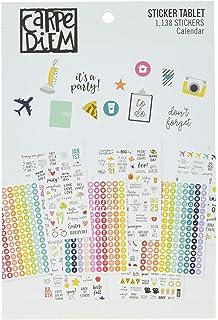 Carpe Diem Planer A5/Planer Aufkleber Tablets/ /Zahlen und Kalender