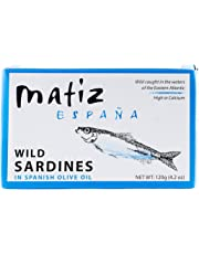 Matiz España Sardines in Olive Oil, 4.2-Ounce Unit (12 Pack)