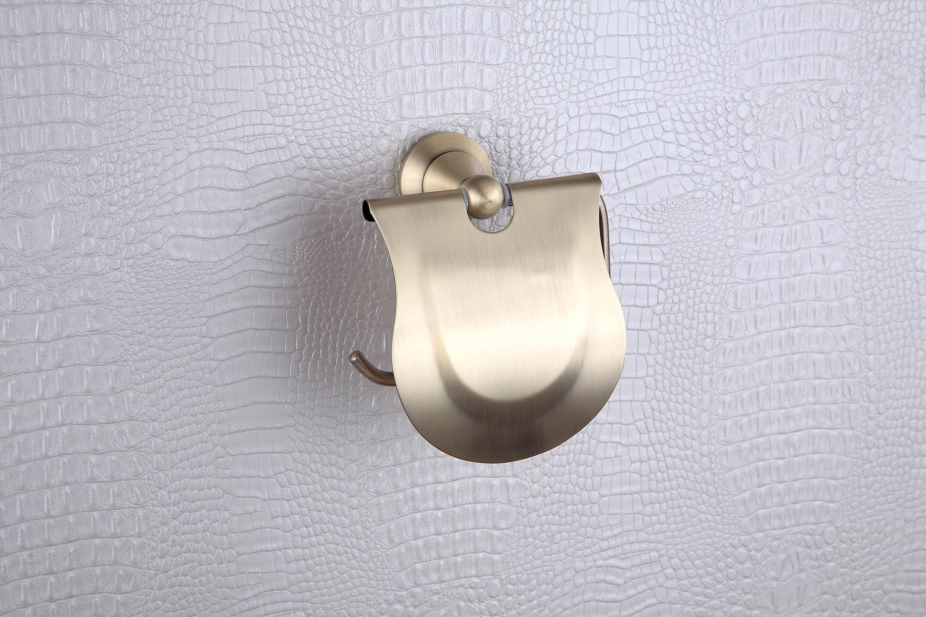 Cloud Power Vintage Style Brass Toilet Paper Holders With Chrome Wall-mounted