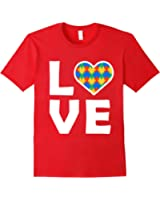 Autism Awareness Embrace Differences Love Puzzle Shirt