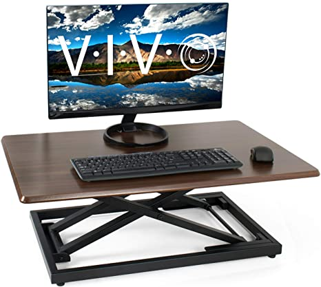 Amazon.com: Vivo – computadora de pie con altura ajustable ...