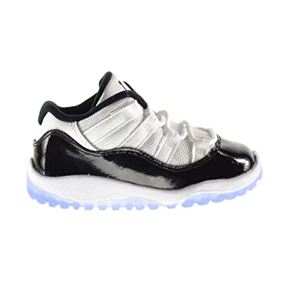 new style 5626e 05b2c Jordan 11 Retro Low BT Baby Toddlers Shoes White/Black-Dark ...