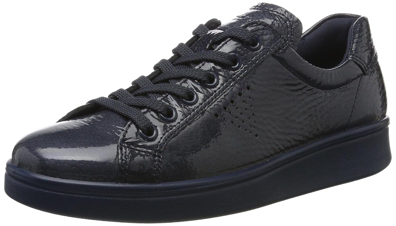 ECCO Soft 4, Zapatillas Para Mujer 41 EU|Azul (Ombre)