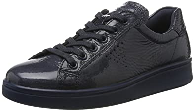 Ecco 218033 Soft 4 White/ Black, Schuhe, Sneaker & Sportschuhe, Flache Sneaker, Weiß, Female, 36