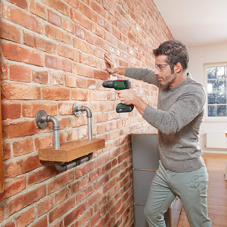 Bosch Home and Garden 06039D4100 Bosch Schlagbohrschrauber UniversalImpact 18 ohne Akku, 18 Volt System, im Karton